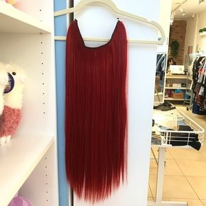 """26"""" Fish line band halo hair extensionsNWT for sale"""